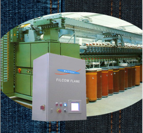 Filcom Slub O-E - Normal and Slub Yarns for Spinning Machines